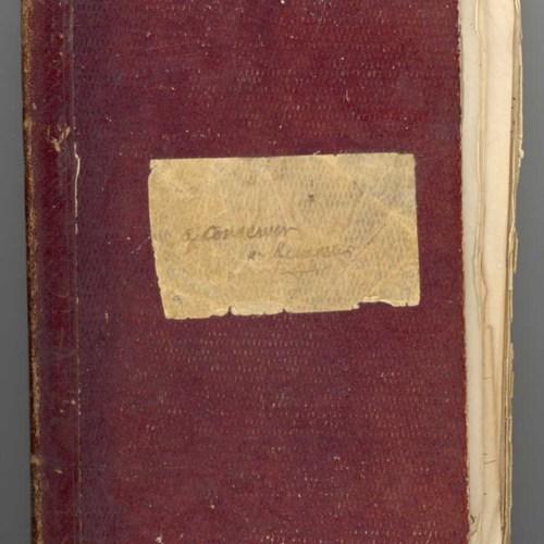 Premier carnet de collecte de Théodore Hersart de La Villemarqué