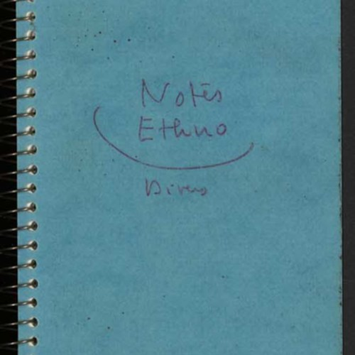 Carnet manuscrit de Pierre-Jakez Hélias, « Notes Ethno », 1967-1969