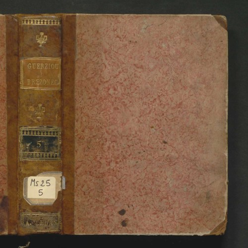 [Carnet n°5 de Alexandre Lédan (1777-1855)]