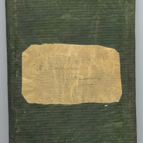 Deuxième carnet de collecte de Théodore Hersart de La Villemarqué